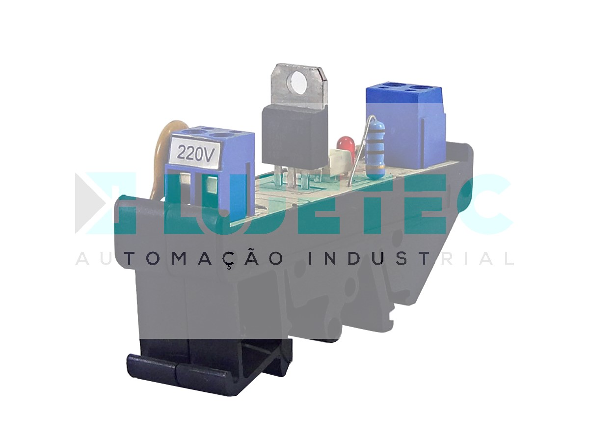 INTERFACE A TRIAC 24VCC SAIDA 220VCA 60HZ