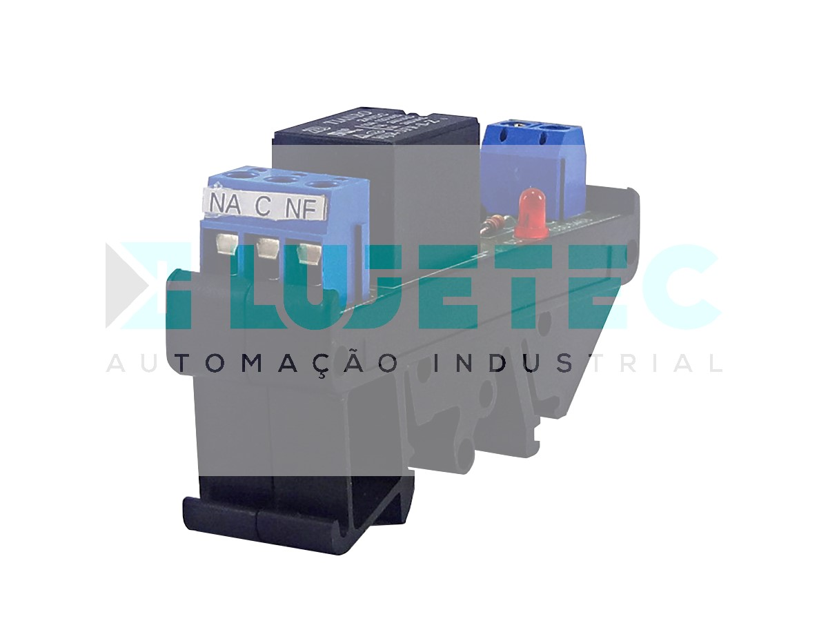 INTERFACE A RELE SIMPLES NA+NF 24VCC 5A 20MM
