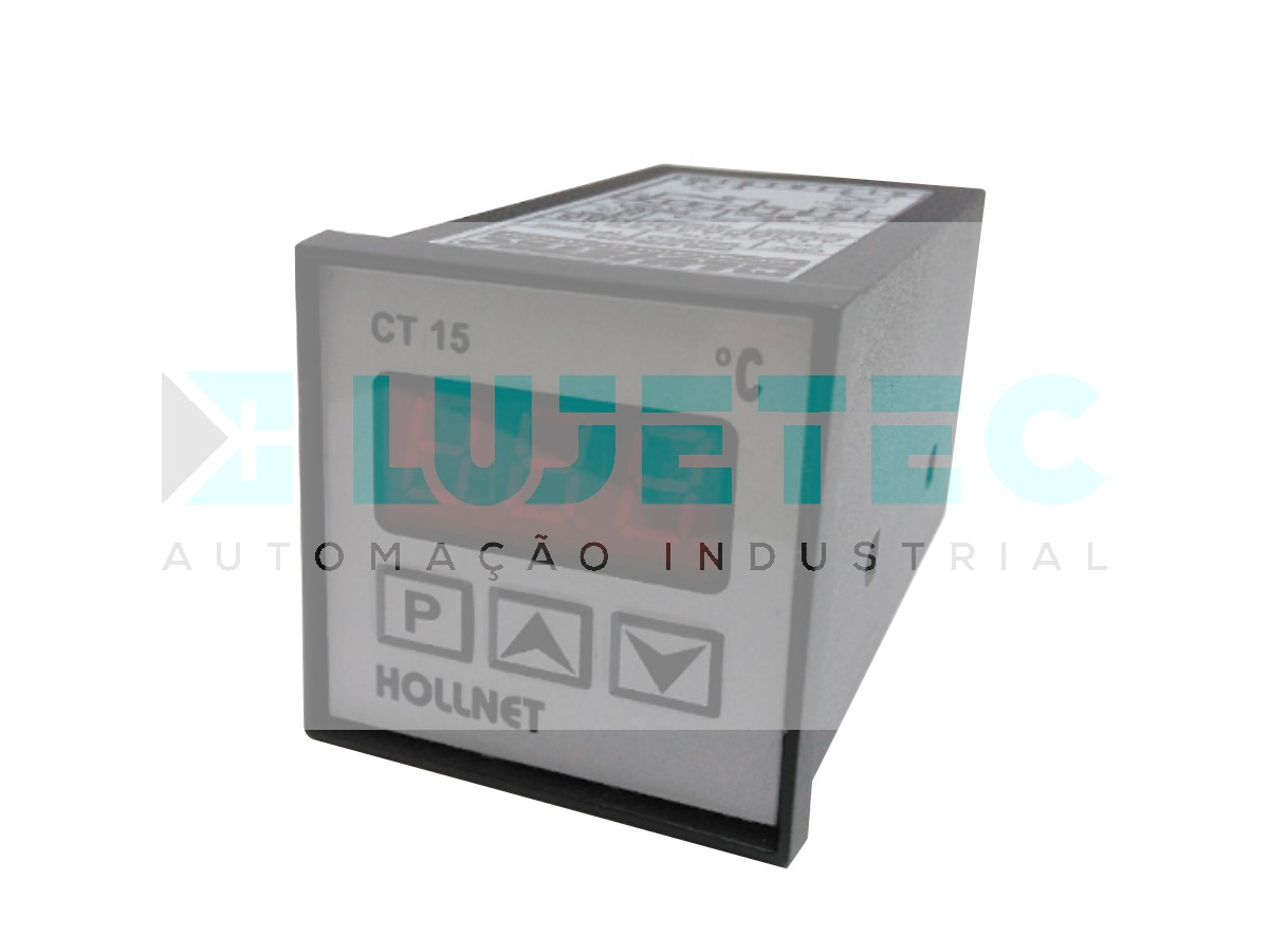 CONTROLADOR TEMPERATURA DIGITAL CT15 -30 A 969ºC J 220VCA 60HZ